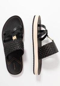 GANT - FLATVILLE - Pantofle - black - 3
