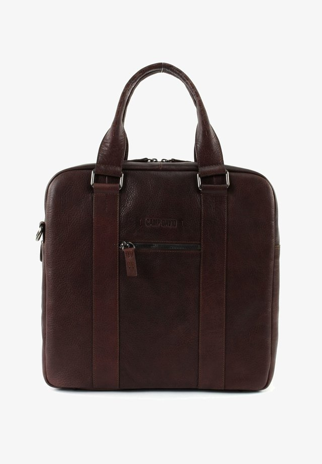 MOUNT MCKINLEY  - Tote bag - dark brown