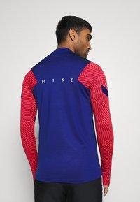 Nike Performance - DRY STRIKE DRILL - Funktionströja - deep royal blue/dark beetroot/white - 2