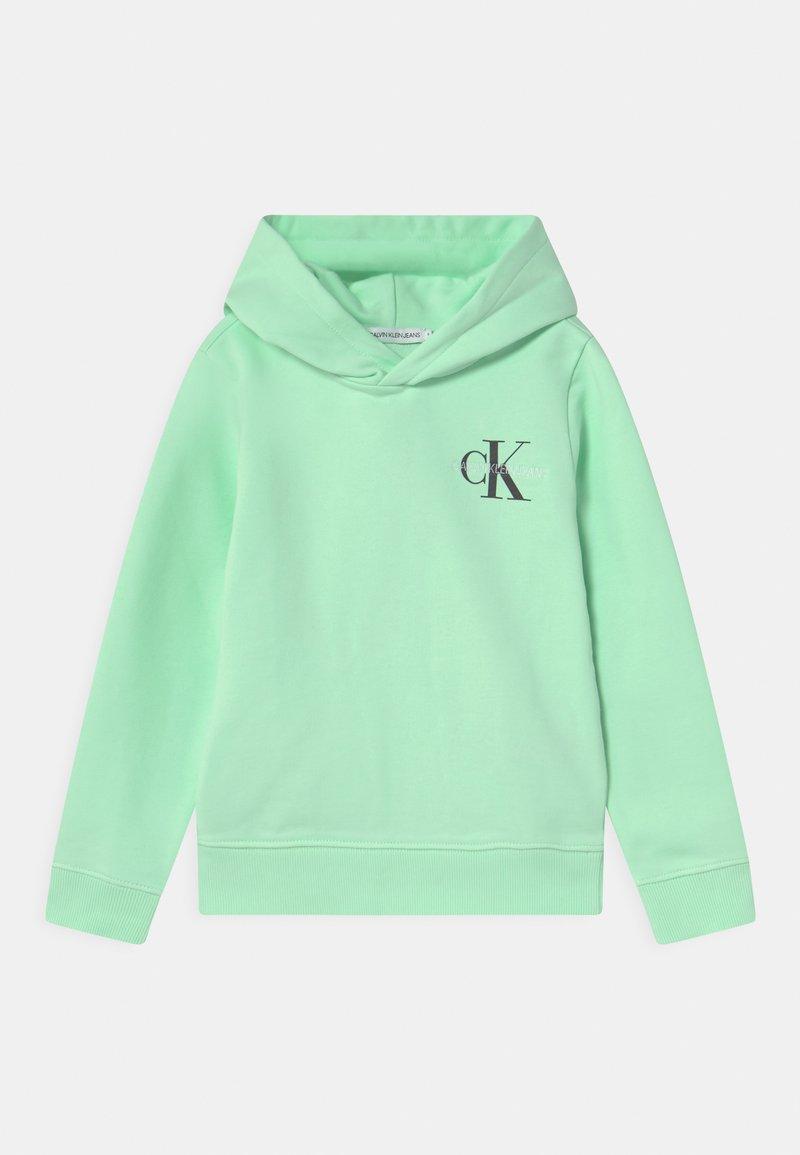 Calvin Klein Jeans - SMALL MONOGRAM HOODIE UNISEX - Hoodie - green