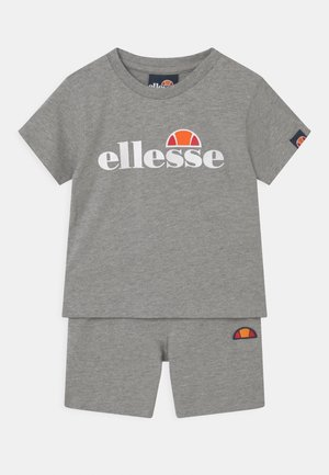 LEOPOLDI SET UNISEX - Shorts - grey marl