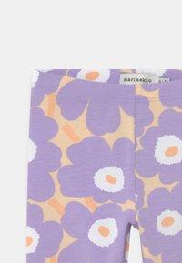 Marimekko - LAIRI MINI  - Leggings - Trousers - light yellowish/lavender - 2