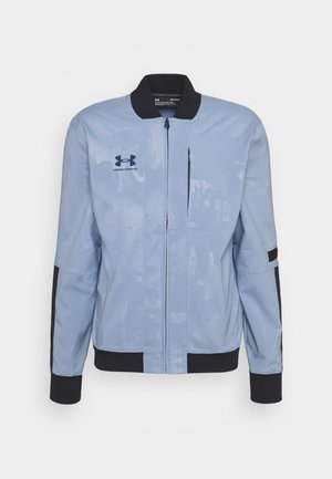 ACCELERATE JACKET - Chaqueta de entrenamiento - washed blue