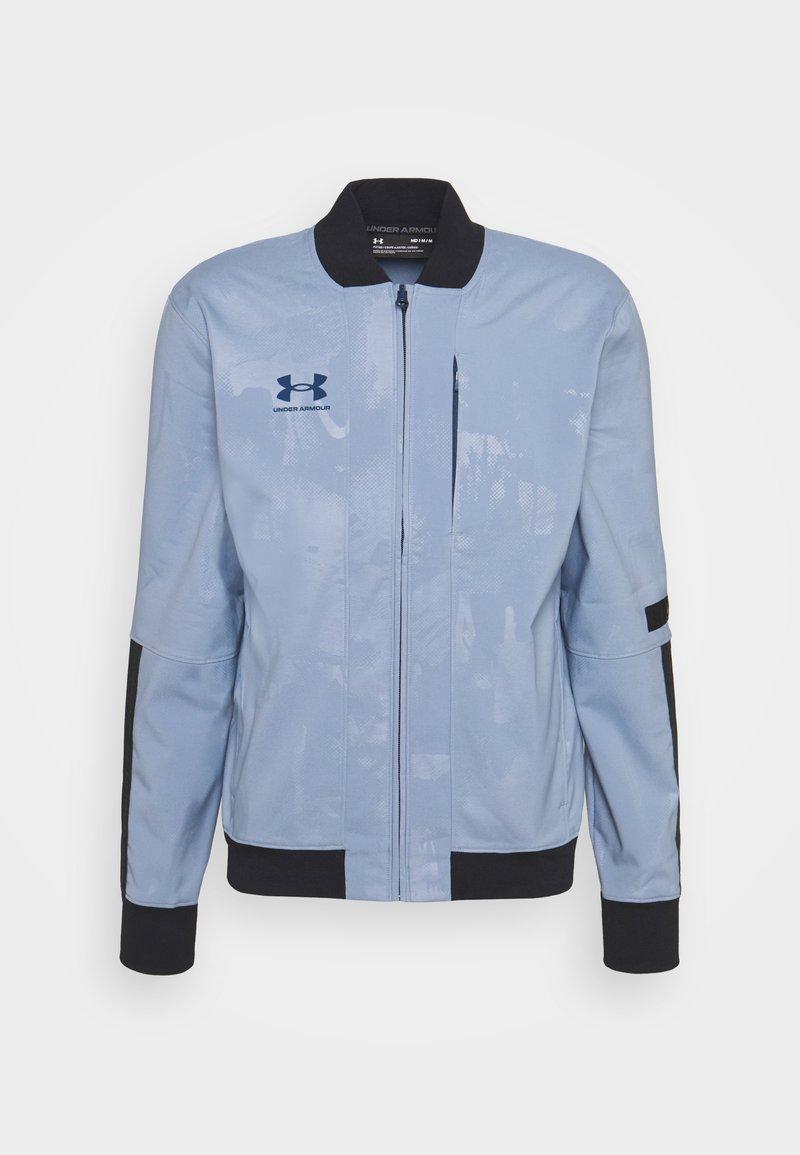 Under Armour - ACCELERATE JACKET - Training jacket - washed blue