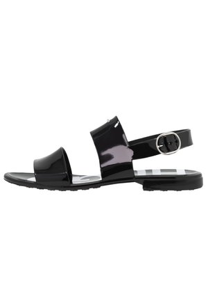 EMMA STRIPE  - Sandals - black
