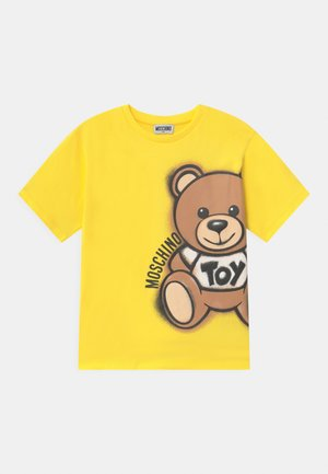 MAXI UNISEX - T-shirt con stampa - cyber yellow
