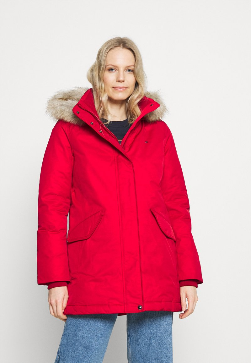 Tommy Hilfiger - SORONA PADDED - Winter coat - primary red