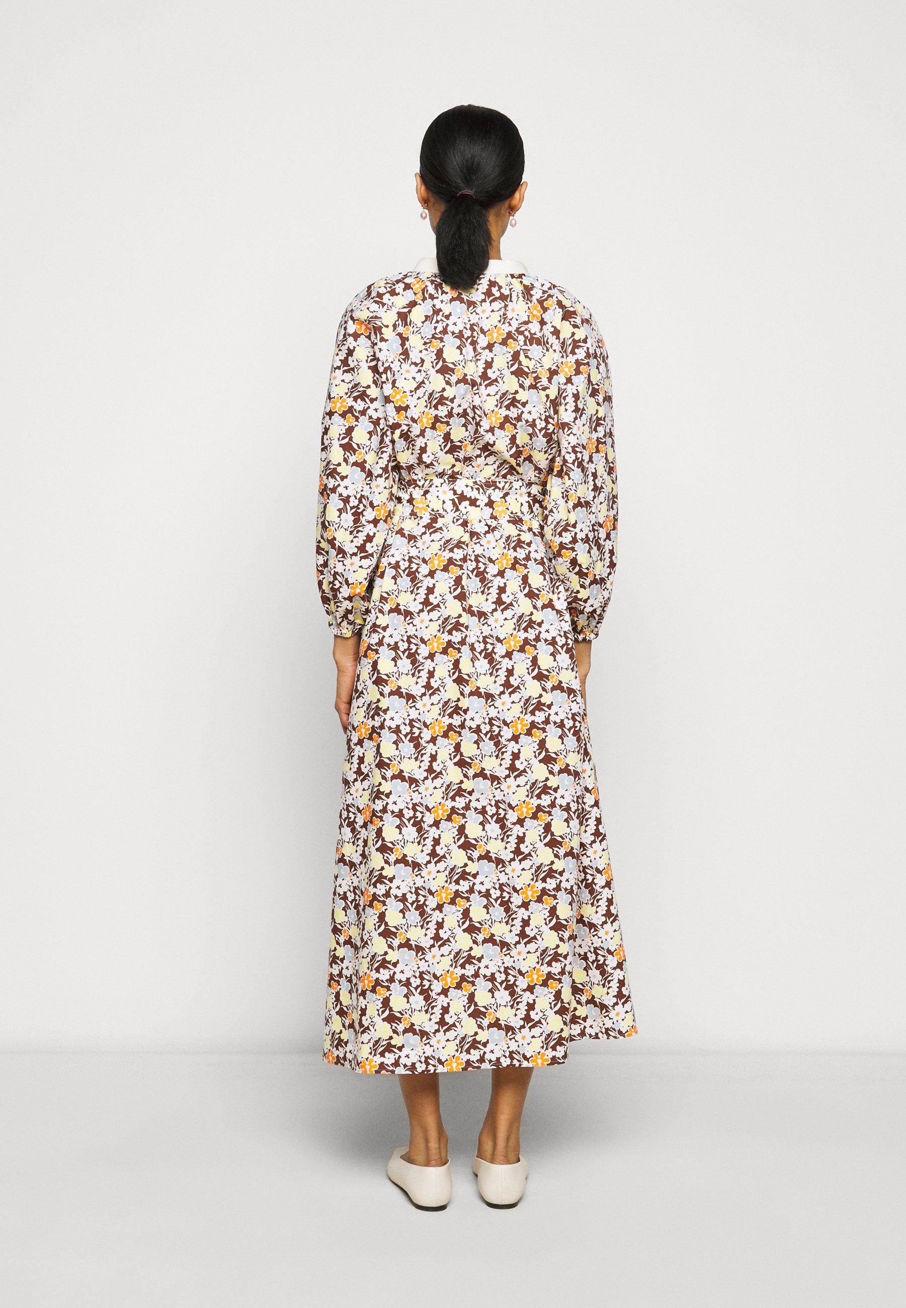Women PRINTED PUFFED SLEEVE DRESS - Day dress