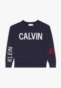 Calvin Klein Jeans - STAMP LOGO  - Trui - blue - 0