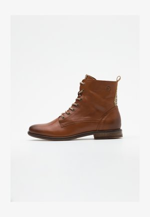 WOMS  - Bottines à lacets - nut