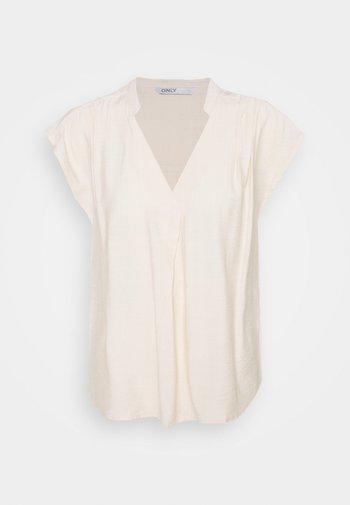 ONLJOSEY V NECK  - Basic T-shirt - ecru