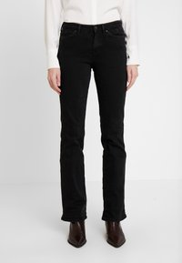 edc by Esprit - Jeansy Bootcut - black rinse - 0