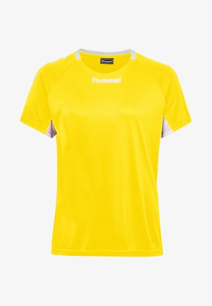 CORE TEAM  - T-shirts print - yellow