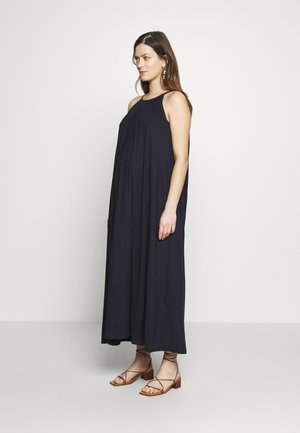 AIR HALTERNECK DRESS - Jerseyklänning - dark blue
