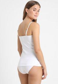 Skiny - DAMEN SPAGHETTISHIRT - Undershirt - white - 2