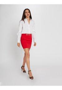 Morgan - A-line skirt - red - 1