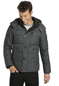TOM TAILOR - Winterjas - mid grey structure - 5