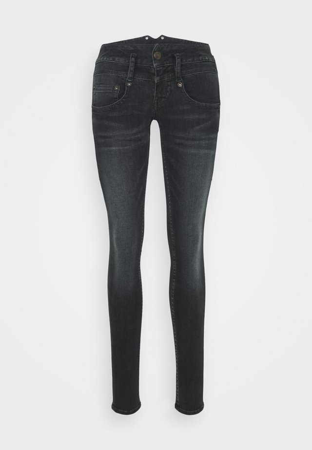 PITCH SLIM REUSED  - Slim fit jeans - crow