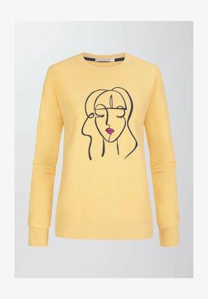 Sweatshirt - goldenrod