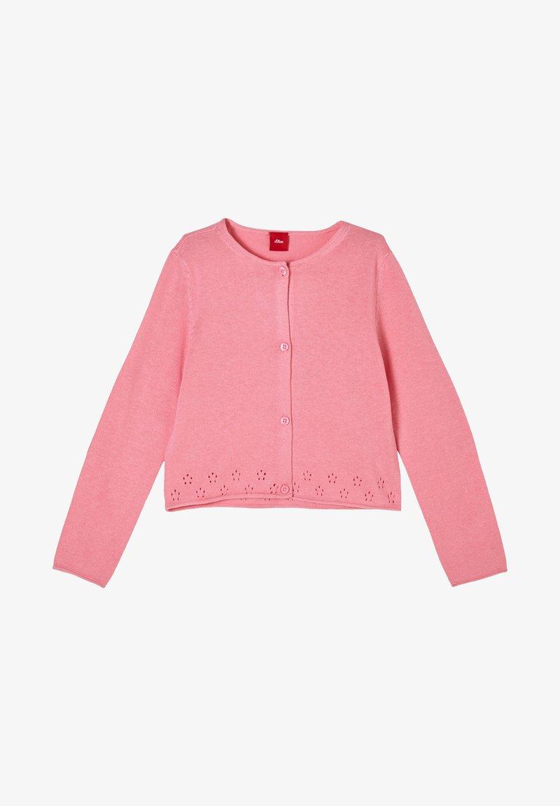 s.Oliver - Cardigan - pink