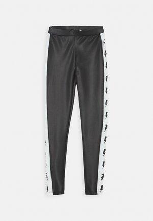 SHAREN - Leggings - Trousers - deep black