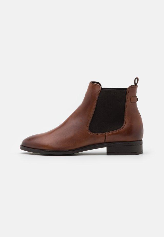 FIGORIA - Classic ankle boots - cognac