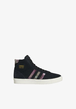 High-top trainers - core black/off white/victory gold