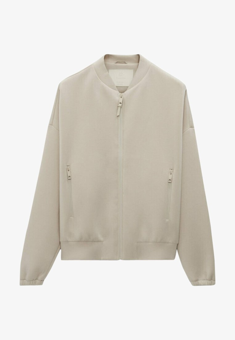 Massimo Dutti - Bomber Jacket - beige