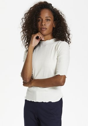 CANDACE - T-shirt basic - egret