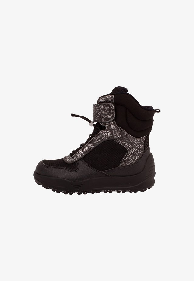 MALIK - Winter boots - metallic black