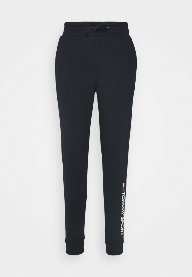 CUFF LOGO - Pantaloni sportivi - blue
