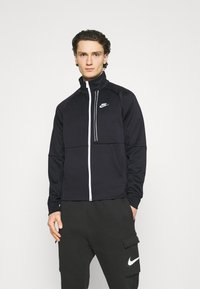 Nike Sportswear - TRIBUTE - Träningsjacka - black/white - 0