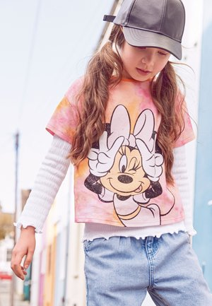 LICENSE DISNEY MINNIE MOUSE - Triko s potiskem - orange