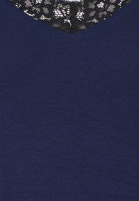 Pour Moi - SECRET SUPPORT CHEMISE - Noční košile - navy - 2