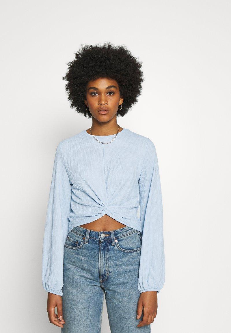 Monki - SIRI - Blouse - solid blue as sketch