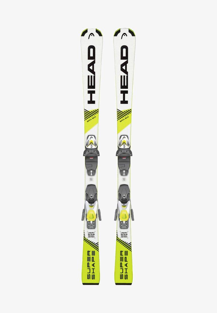 Head - SUPERSHAPE SLR PRO / SLR 7,5 GW - Skiing - white/yellow