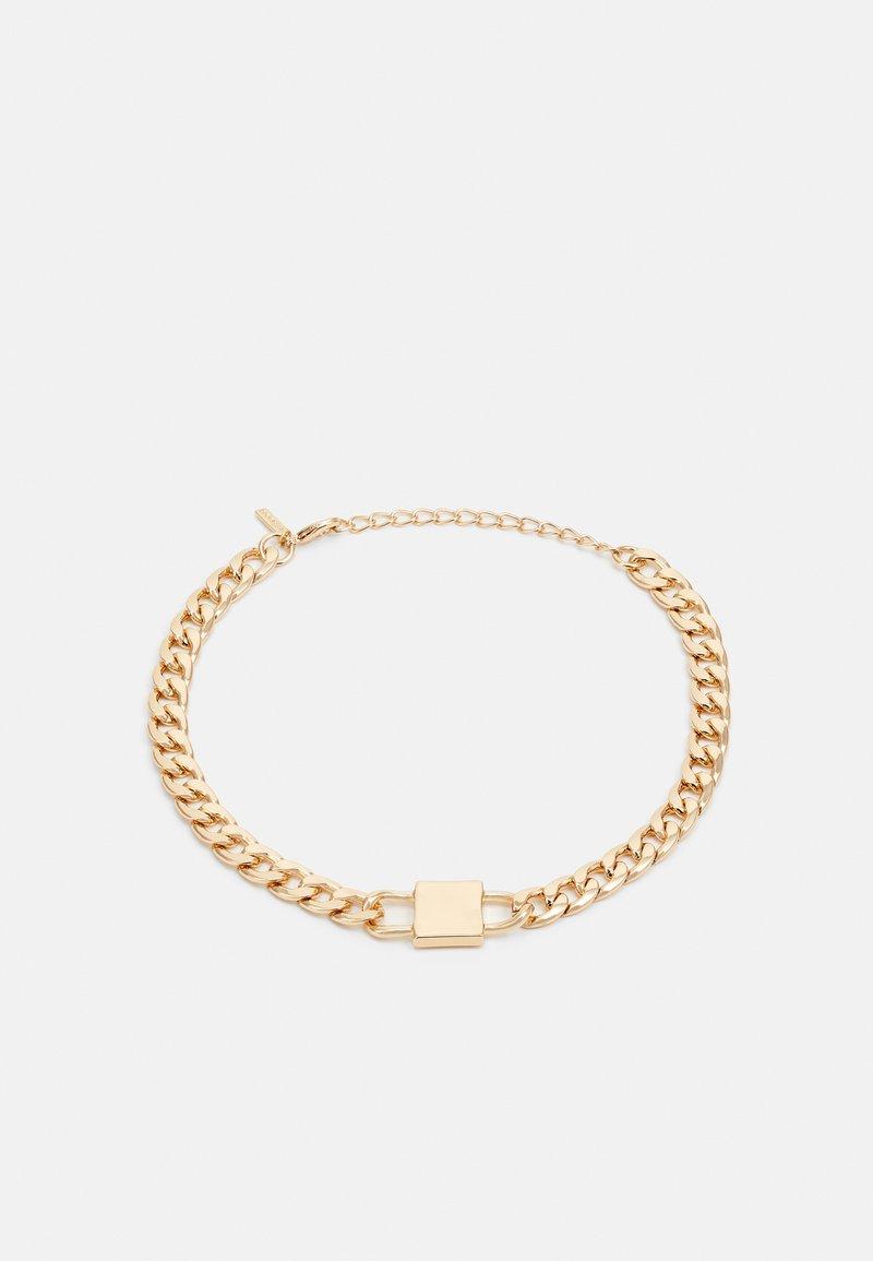 Topshop - D-LOCK CHOKER - Ketting - gold-coloured