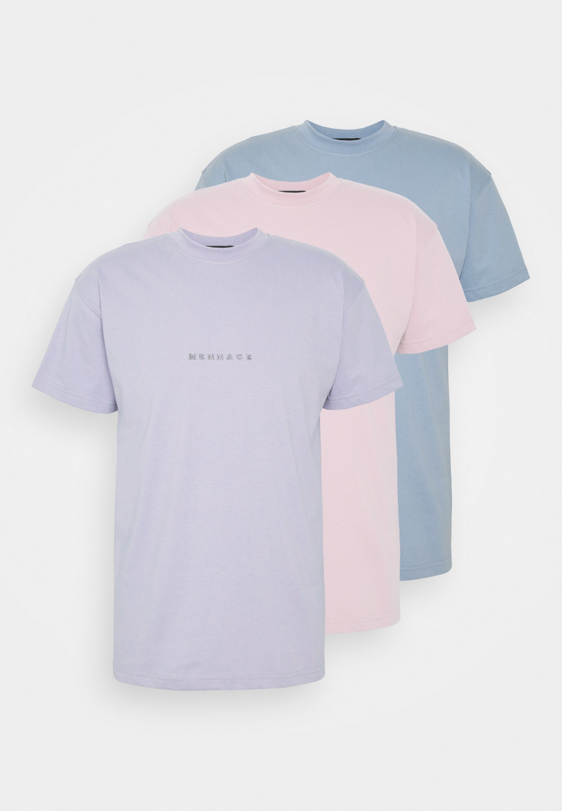 Uomo ESSENTIAL REGULAR UNISEX 3 PACK - T-shirt basic