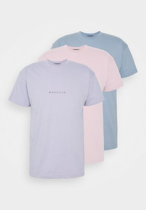 ESSENTIAL REGULAR UNISEX 3 PACK - T-shirt basic - multi