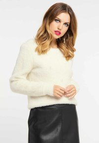 faina - Jumper - white - 0