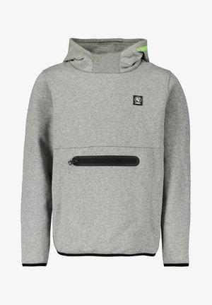 Hoodie - dark grey melee