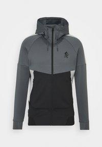 Gym King - CHIBA TRACKSUIT - Training jacket - black/grey marl - 0