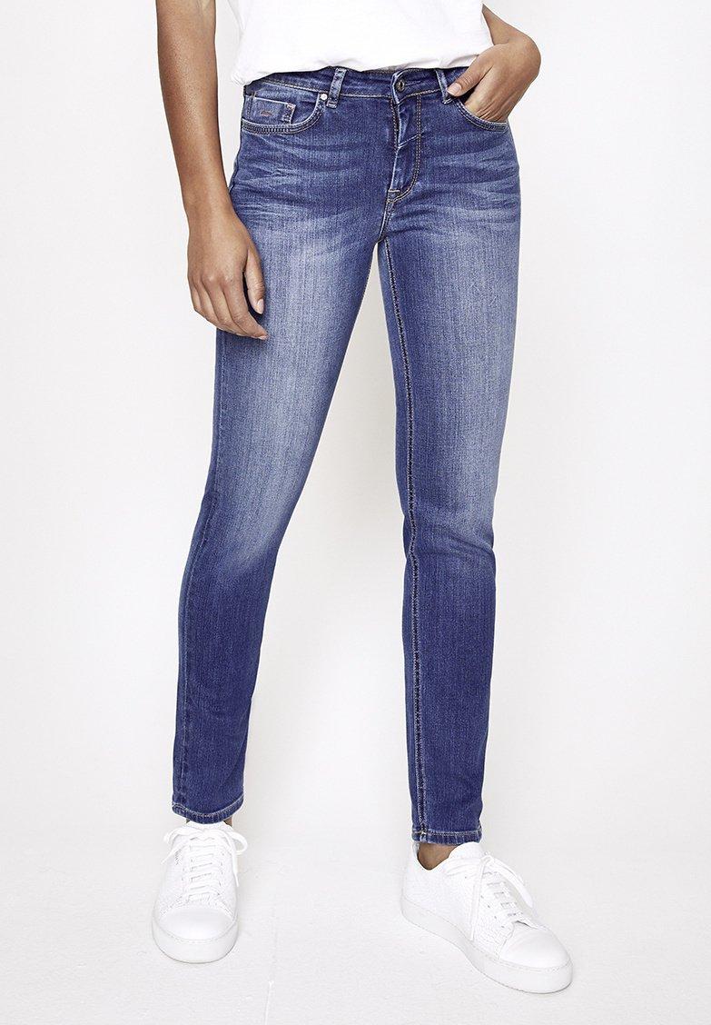 Five Fellas - MAGGY - Straight leg jeans - blau