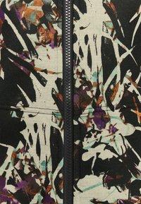 Roxy - FROST PRINTED - Zip-up sweatshirt - true black - 2