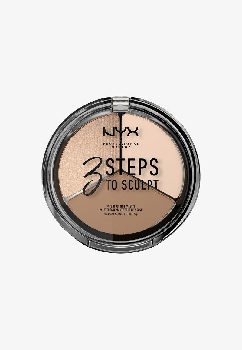 Nyx Professional Makeup - 3 STEPS TO SCULPT - Contouring - 1 fair
