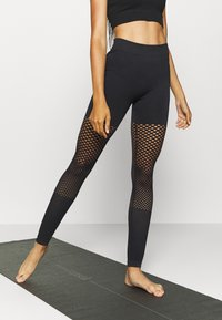 South Beach - SEAMLESS GRADUAL - Leggings - black - 0