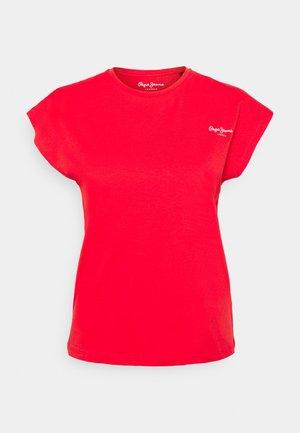 BLOOM - Basic T-shirt - mars red