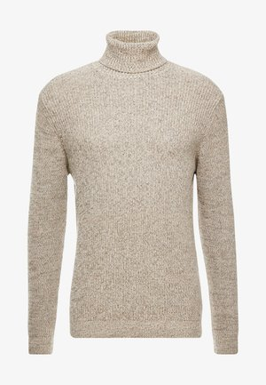 OLIVER ROLL NECK - Pullover - stone
