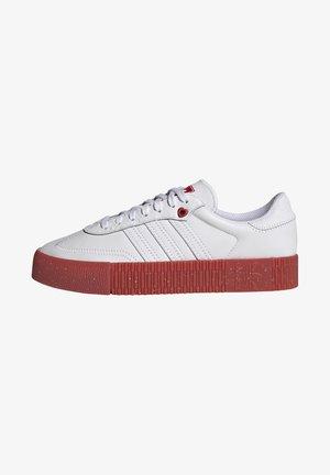 SAMBAROSE - Zapatillas - footwear white/scarlet/core black