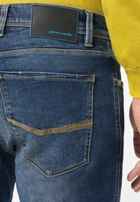 Pierre Cardin - LYON - Jeans Tapered Fit - mid blue used - 3